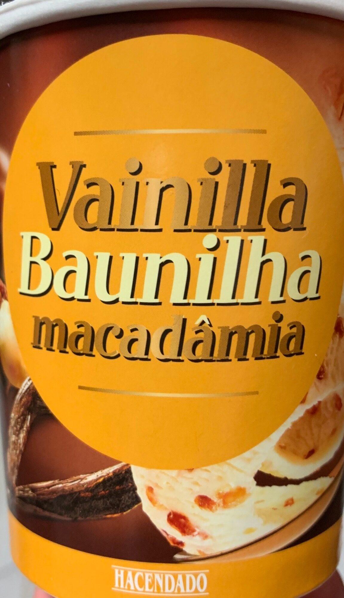 Vainilla y nueces de macadamia - Producte - es