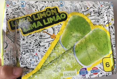 helado de lima limón - Produit