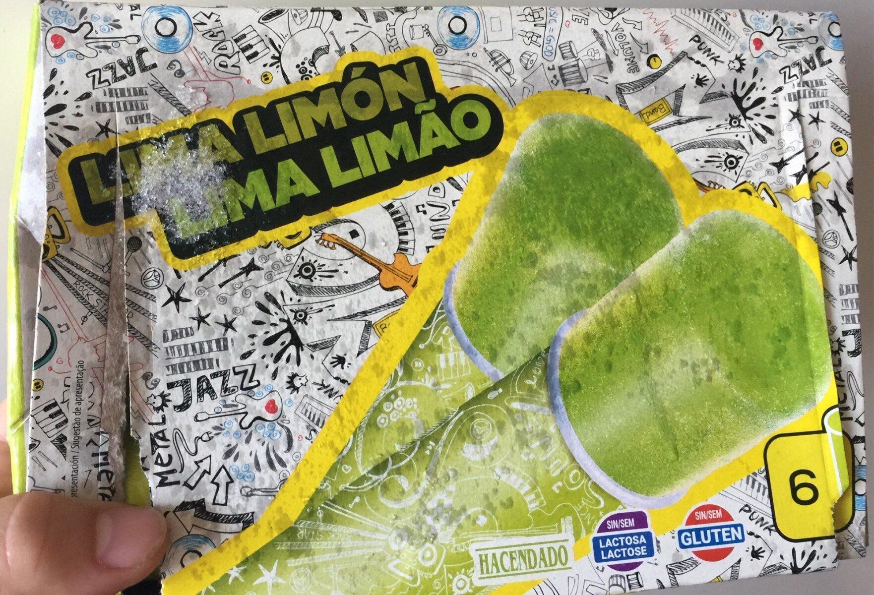Helado de lima limón - Produit - en