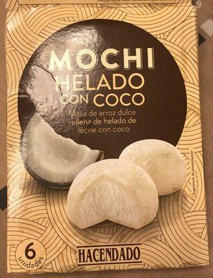 Mochi helado con coco - Producto