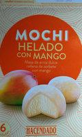 Mochi helado con mango - Producto