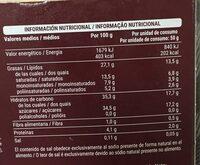 Mini nocciola - Información nutricional - es