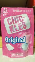 Chickles original Tutti-Frutti - Product - es