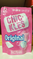 Chickles original Tutti-Frutti - Produkt - fr