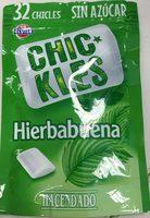 Chic*kles hierbabuena - Producto