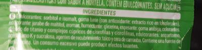 Chicles hierbabuena - Ingredients - es