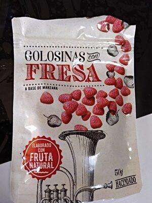 Golosinas Con Fresa - Hacendado - 50G - Producte