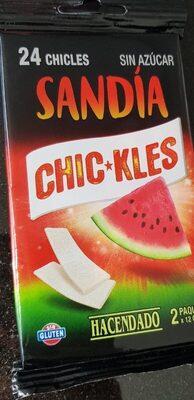 Chic*kles sandia - Produit - fr