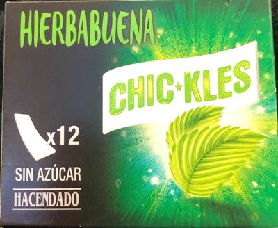 Chic*kles Hierbabuena - Producte