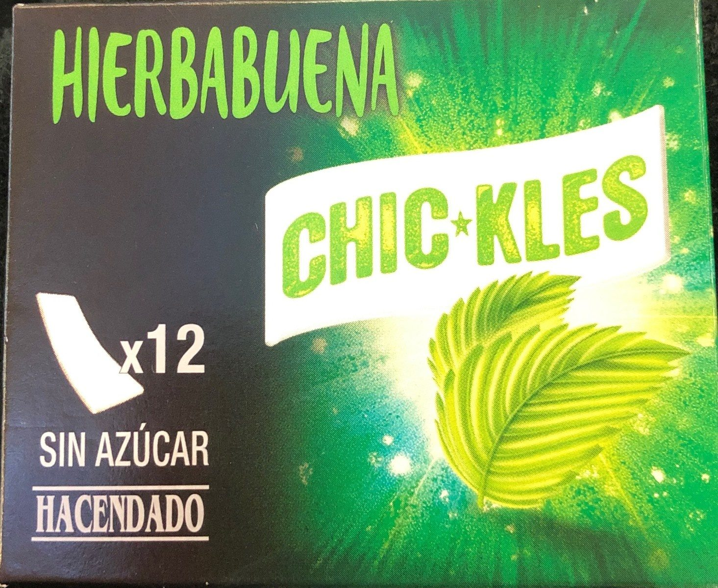 Chic*kles hierbabuena - Produkt - es