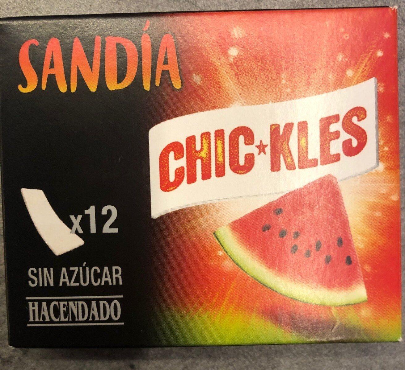 Sandia chic*kles - Produkt - es