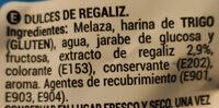 Rega black - Ingredients - es