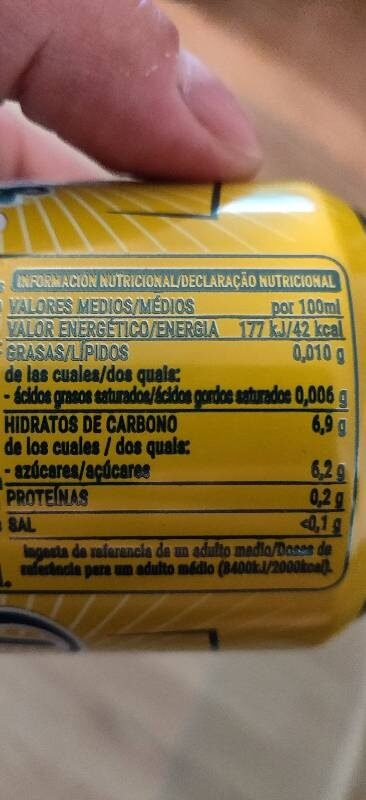 Radller - Informació nutricional - es