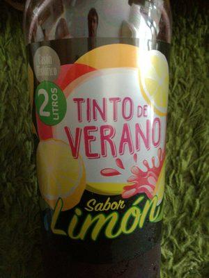 Tinto de verano sabor limón - Producto