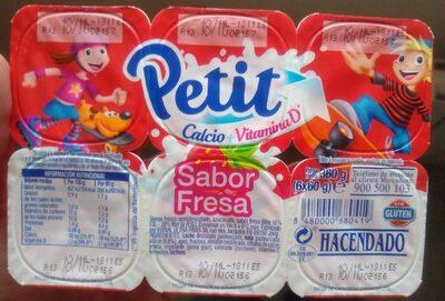 Petit sabor fresa - Produit