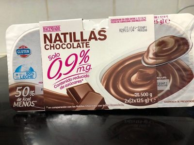 Natillas chocolate 0,9% - Product - es
