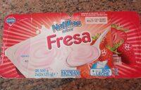 Natillas sabor fresa - Product - es