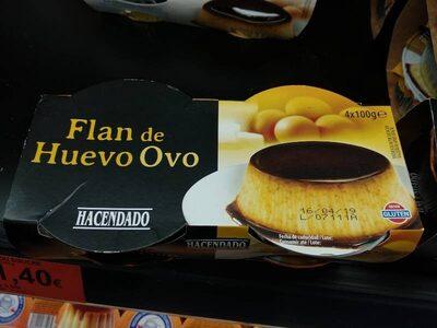 Flan de huevo - Producte