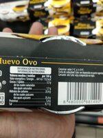 Flan de huevo - Ingredients