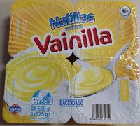 Natillas sabor vainilla - Product - es