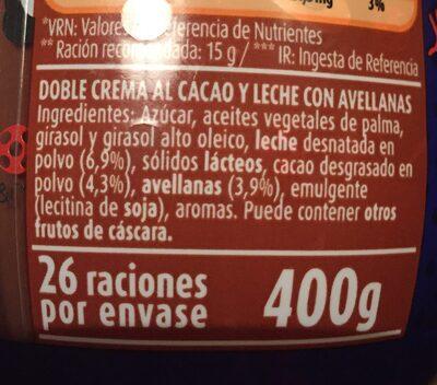 Flan de huevo sin azucares - Ingredientes - es
