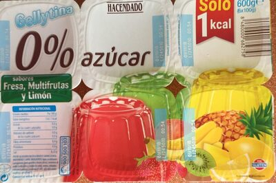 Gellytina sobores fresa, multifrutas y limon - Product