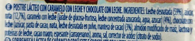 Petit chocolate con leche - Ingredients