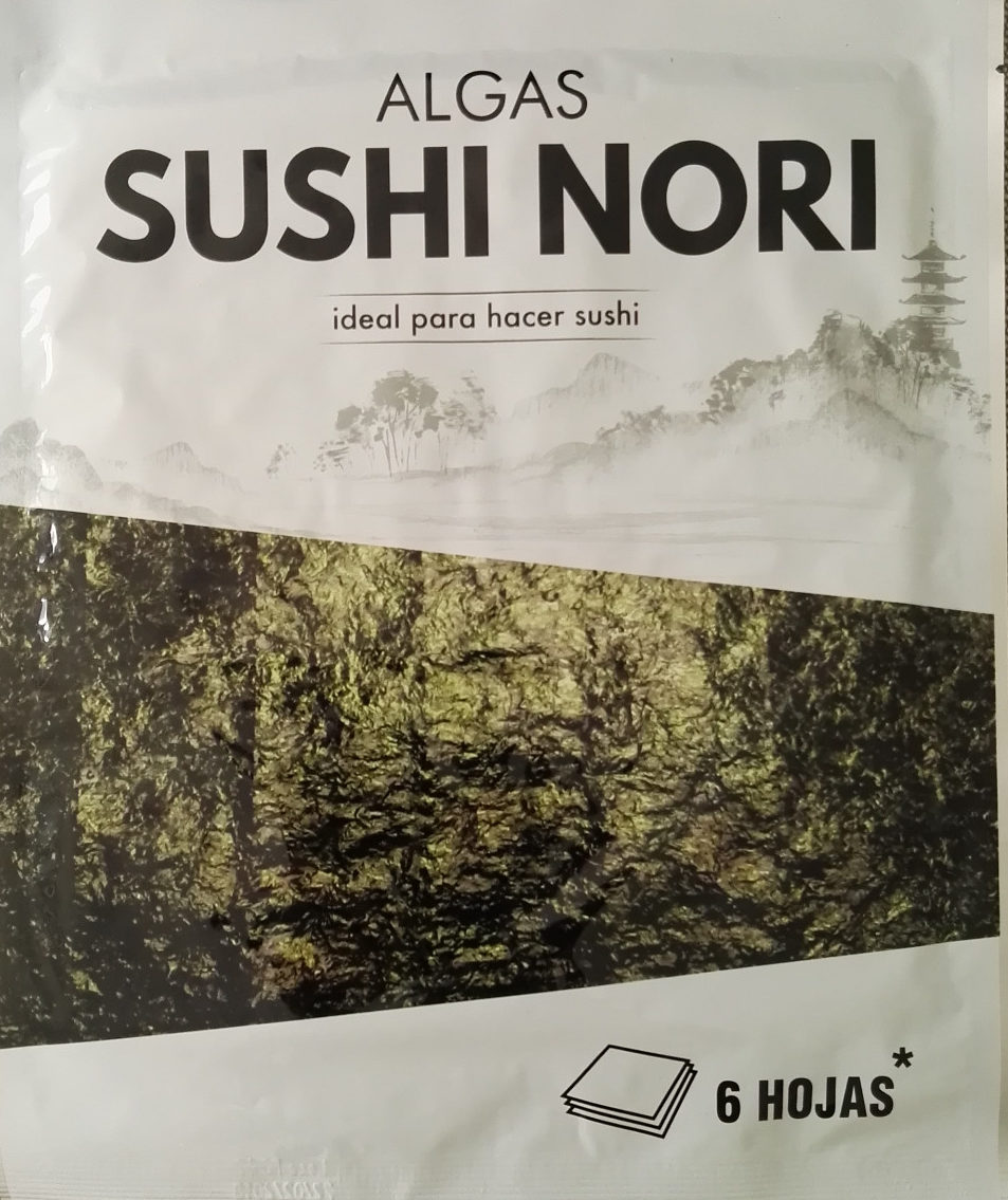 Algues sushi nori - Producte - es