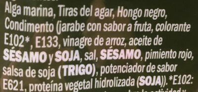 wakame - Ingredients