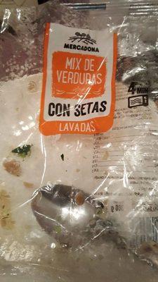 Mix de verduras con setas - Produit