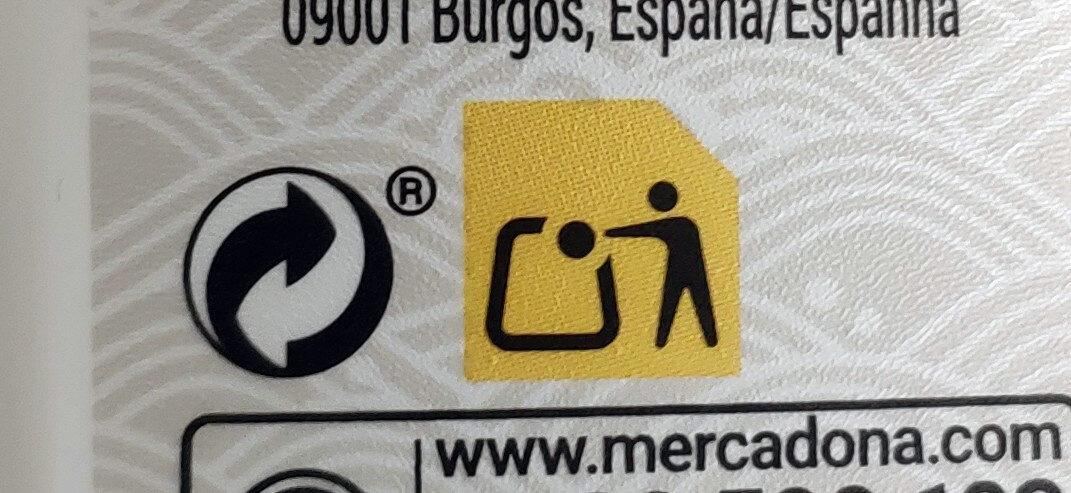 Crema de Tofu - Istruzioni per il riciclaggio e/o informazioni sull'imballaggio - es