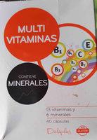 Multivitaminas - Product