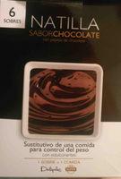 Sobres Natilla sabor chocolate - Producte