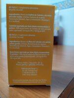 Omega 3 en cápsulas - Ingrediënten - es
