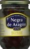 """Aceitunas negras enteras """"Hacendado"""" Negra de Aragón - Producto"""