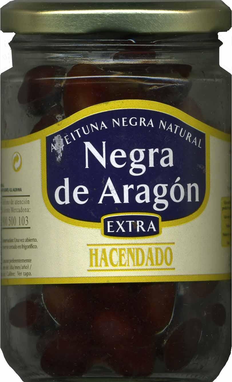 Aceituna negra de Aragón - Producto - es