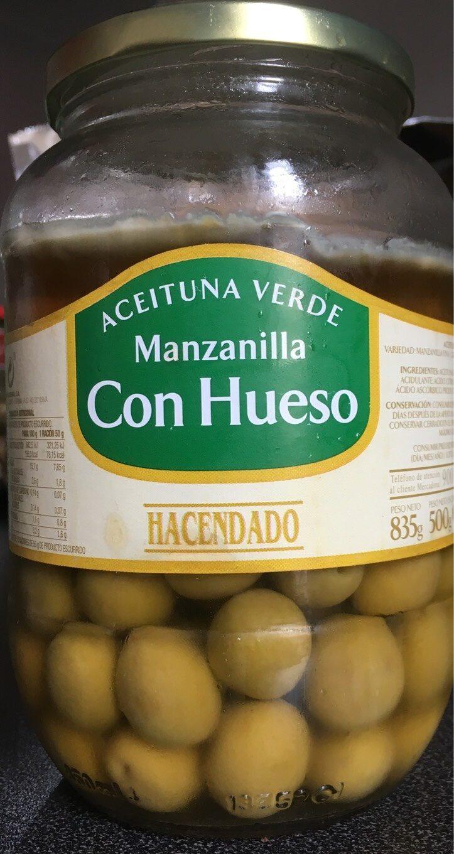 Manzanilla con hueso - Producte