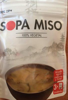 Sopa Miso 100% Vegetal - Producto