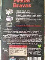 Patatas Bravas - Ingrediënten