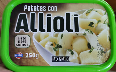 Patatas con Allioli - Producto - es