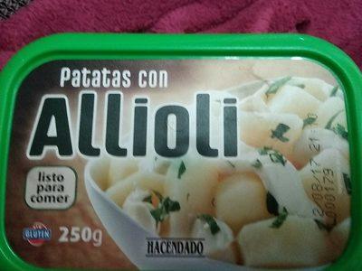 Patatas con Aioli - Producto