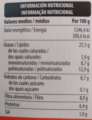 Hummus classic - Información nutricional - es