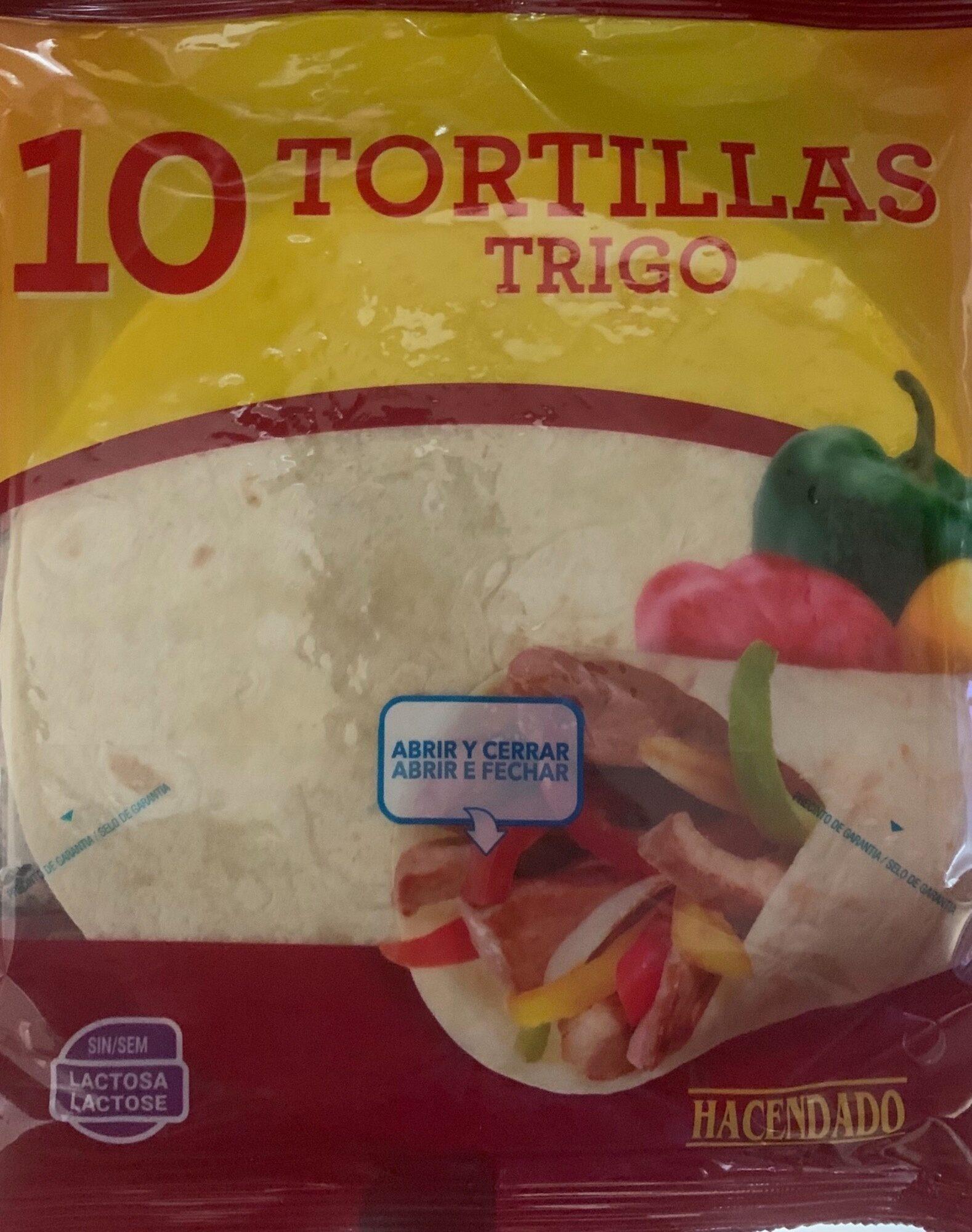 10 Tortillas de Trigo - Producto