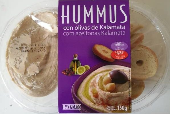 Hummus con olivas de kalamata - Producte - es