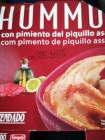 Hummus con pimiento del piquillo - Producte - es