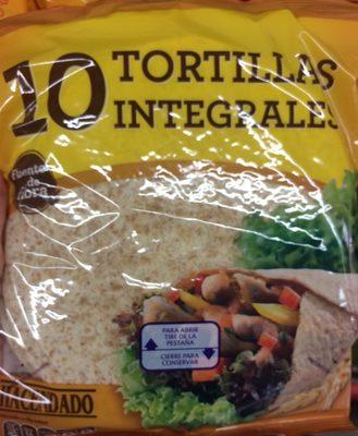 10 Tortillas Integrales