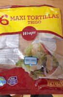 Máxi tortillas - Producte - es