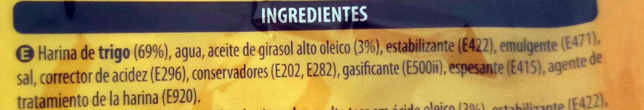 Máxi tortillas - Ingredients - es