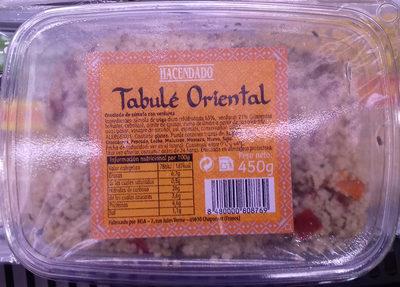 Tabulé Oriental - Producte
