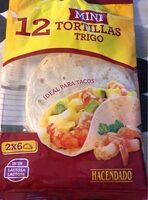 Mini tortillas de trigo - Prodotto - es